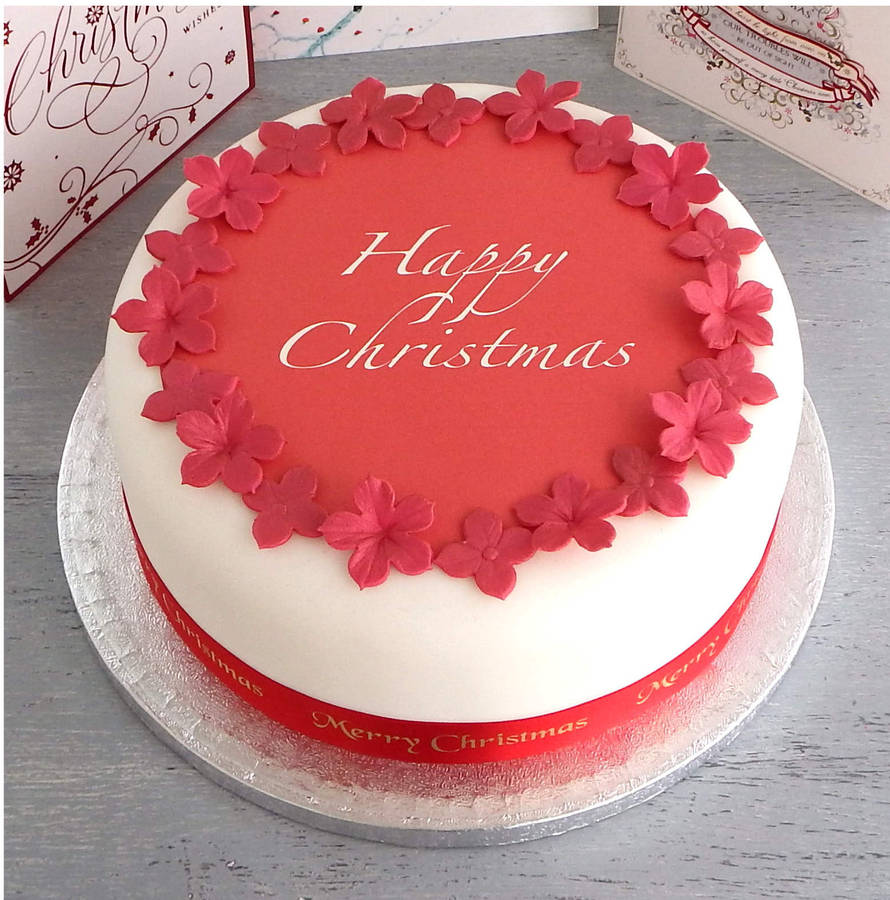 Personalised Christmas Cake Decorating Kit By Clever
