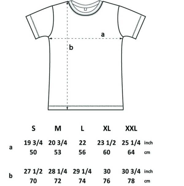 beard measure t shirt by a piece of   notonthehighstreet.com