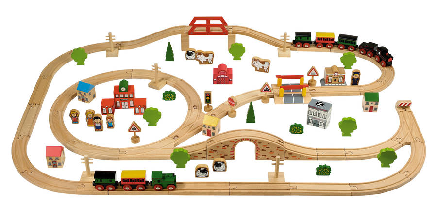 Train Sets And Accessories By Oskar & Catie