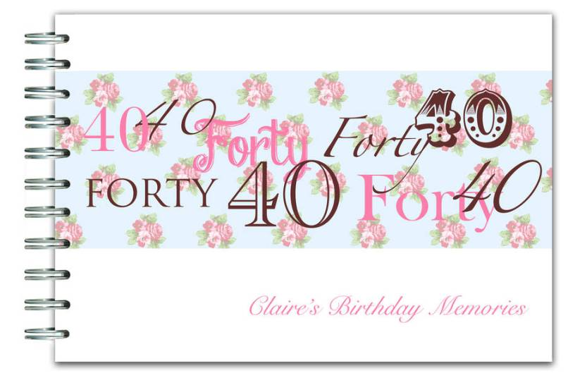 Personalised 40th Birthday Decorations Uk Decorating Ideas