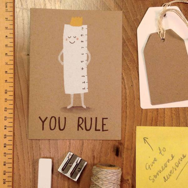you rule card by stormy knight | notonthehighstreet.com