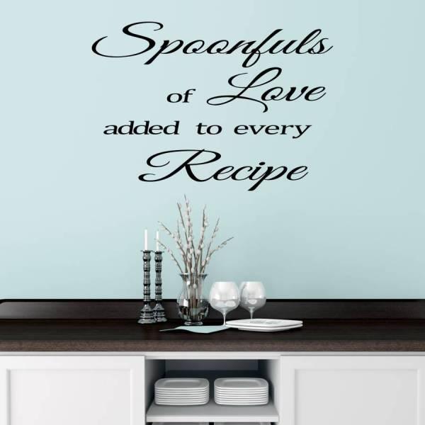 Kitchen Wall Sticker Quote By Mirrorin ...