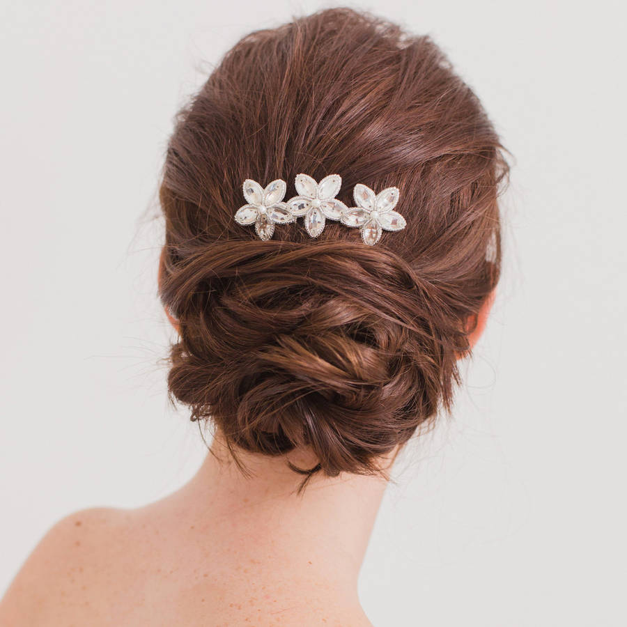 wedding hair b by britten weddings notonthehighstreet