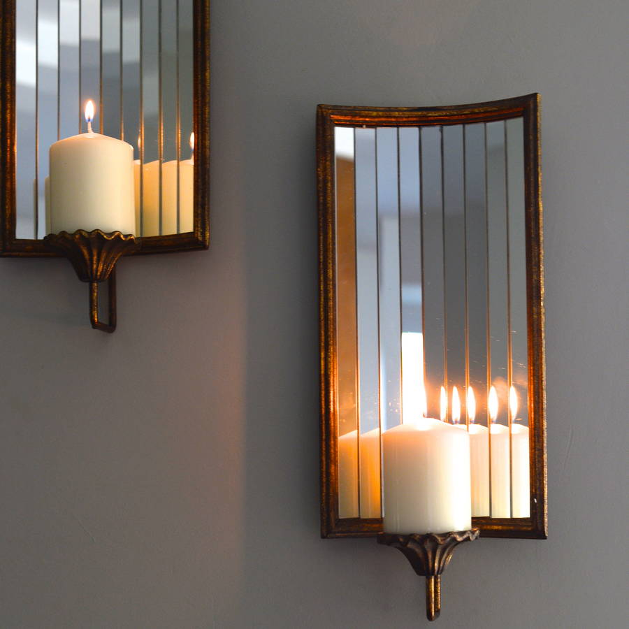 venetian wall candle holder by the forest & co ... on Wall Sconces Candle Holders id=68045