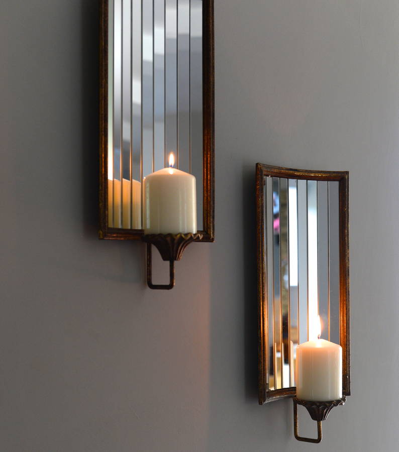 Venetian Wall Candle Holder By The Forest & Co ... on Wall Mounted Candle Holder id=13685