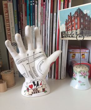 Decorative Tattoo Palmistry Hand Jewellery Holder Unique And Quirky Gift Ideas Any Odd Person Will Appreciate (Fun Gifts!)
