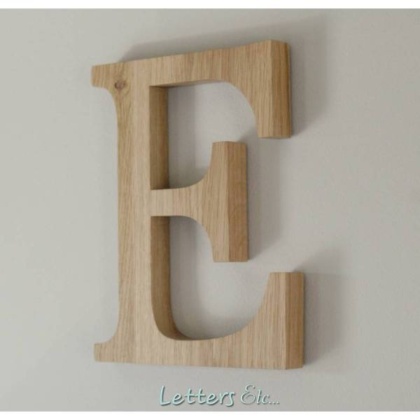 wooden letters by letters etc   notonthehighstreet com Wooden Letters
