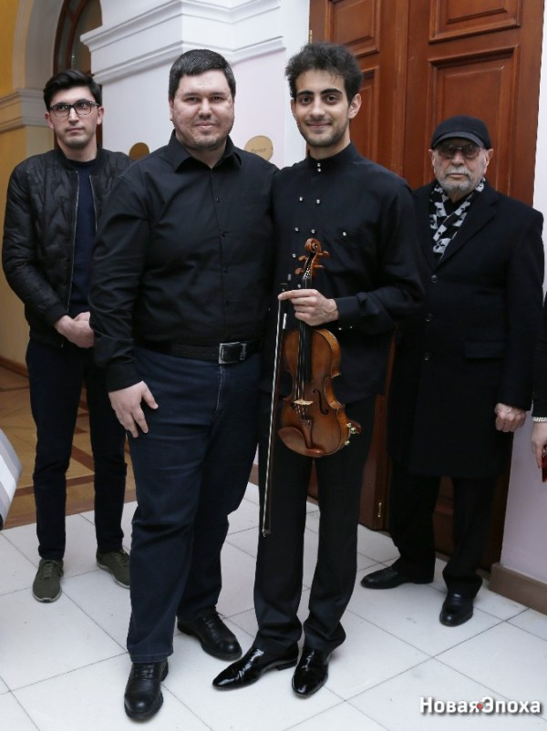 Концерт азербайджанского виртуоза: зал аплодировал стоя ...