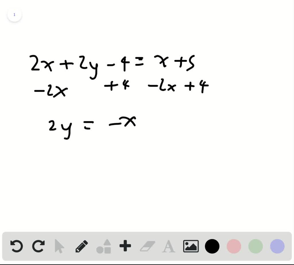 Write The Equation In Slope Intercept Form Then