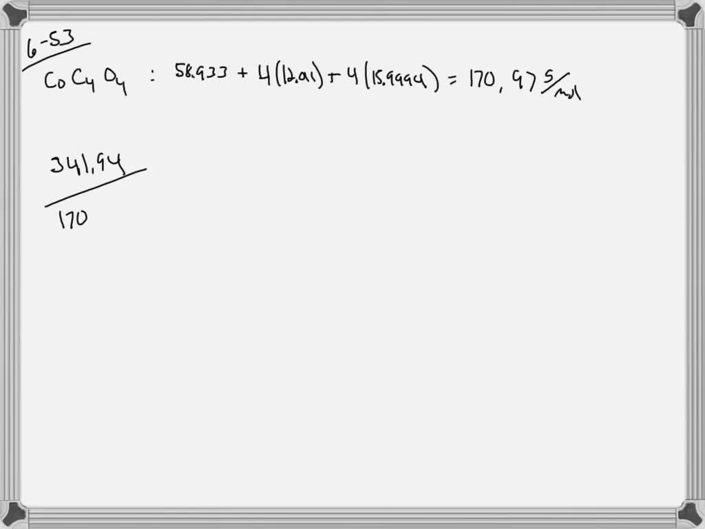 Calculate The Empirical Or Molecular Formula Mass