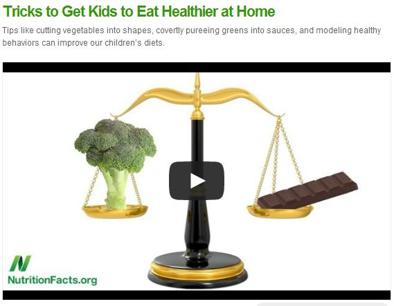 kids eating healthier