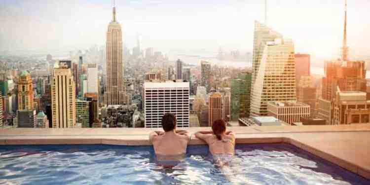 Beat the Heat at These Rooftop Pools