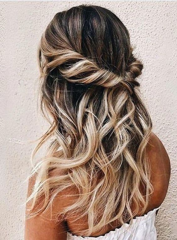 Gorgeous Half-Up/Half-Down Hairstyles for Long and Medium ...