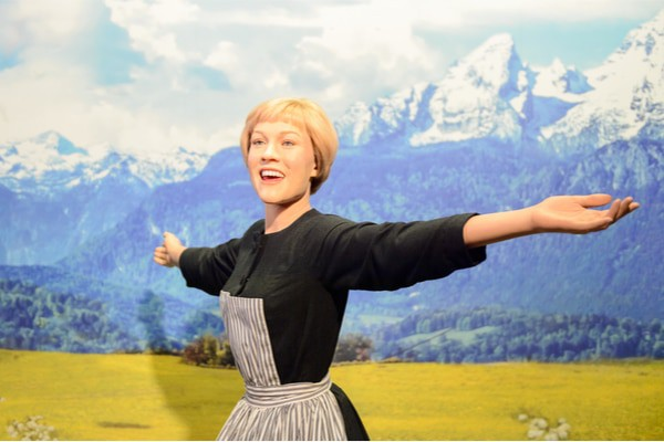 The Sound of Music, starring Julie Andrews, was originally a musical.