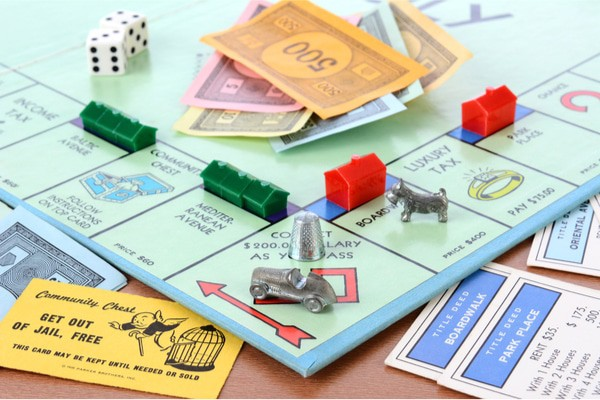 A board game theme is a great way to give everyone something to do at a birthday party.