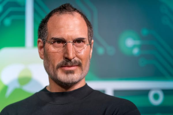 Steve Jobs was impressed with Eve Job's strong nature