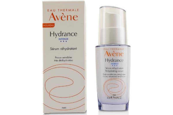 Use Avene Hydrance Intense Hydrating Serum for an even skin tone.