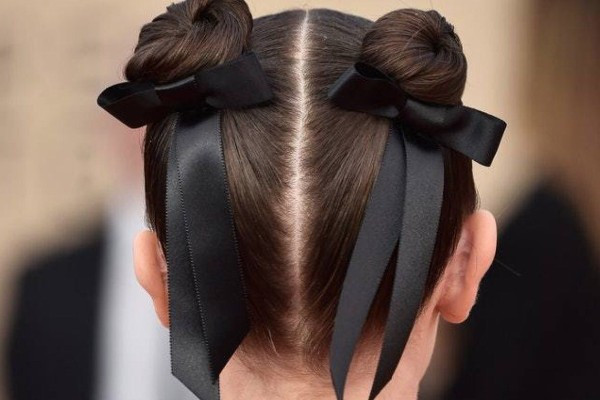 Decorate your space buns.