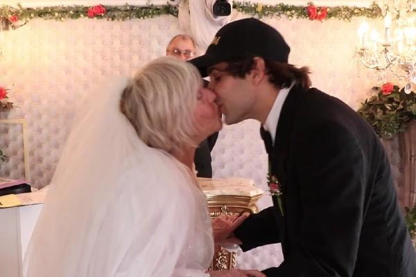 David Dobrik and Lorraine Nash wedding in Las Vegas.