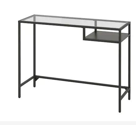 Ikea burbank laptop table