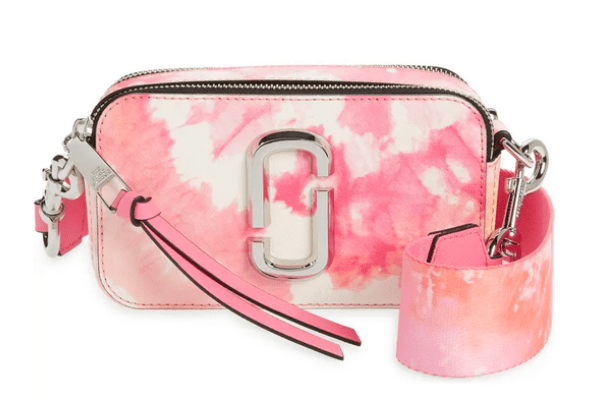 The Marc Jacobs Snapshot Bag in pink