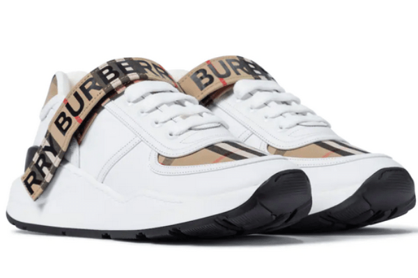 Burberry shoes leather sneakers