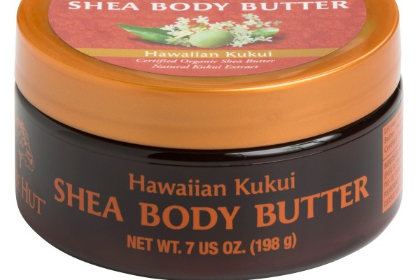 Tree Hut Shea Body Butter with Kukui Extract is great for cracked skin.