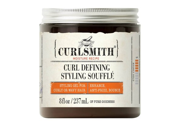 Add definition to your curls with Curlsmith Curl Defining Styling Souffle.