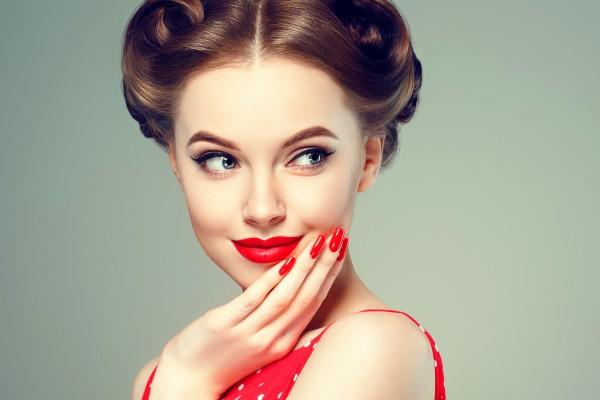 Get the right lip shade for botton-heavy lip shape.
