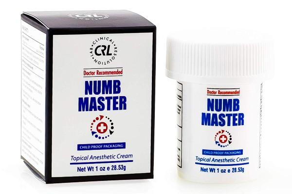 Numb Master skin numbing cream.