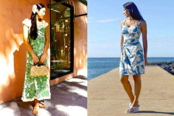 Types of Muumuu dresses.