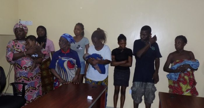 Video: Lagos Baby Factory Uncovered In Nigeria, Police Rescues 19 Pregnant Girls