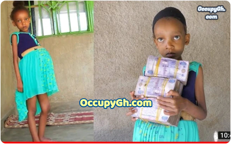 'Pregnant' 6-Year-Old gets money