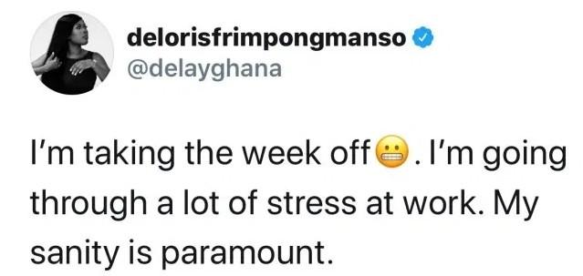 delay going through a lot