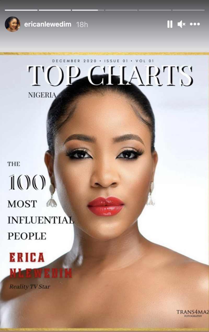 Erica 100 Most Influential People Nigeria