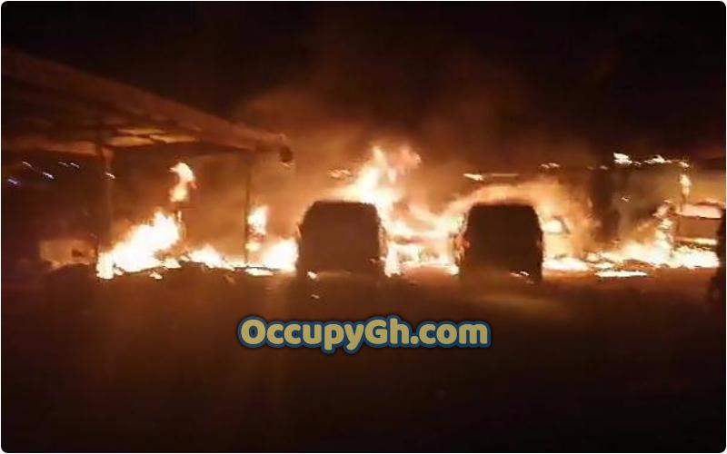 Fire destroys 10-Bedroom House Bantama