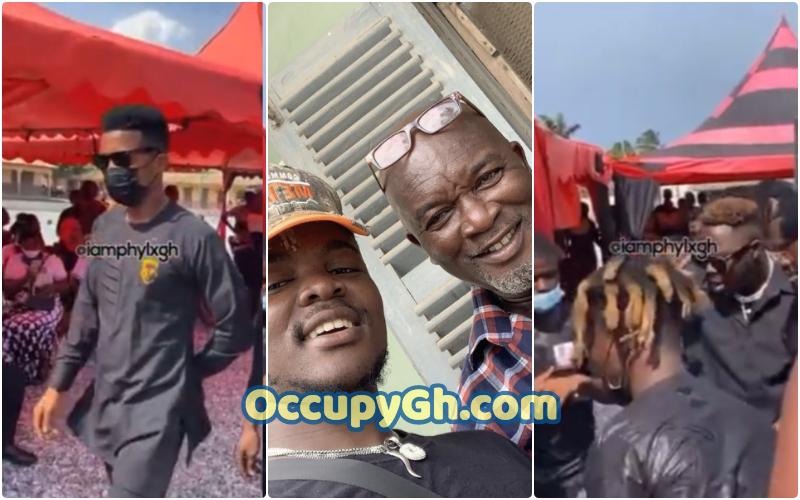 Quamina MP Father Funeral