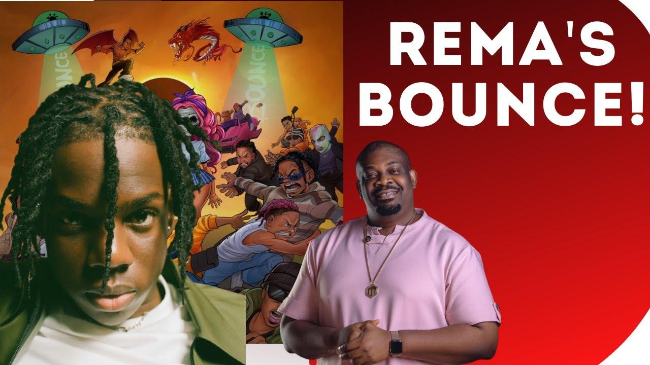 Rema bounce music video