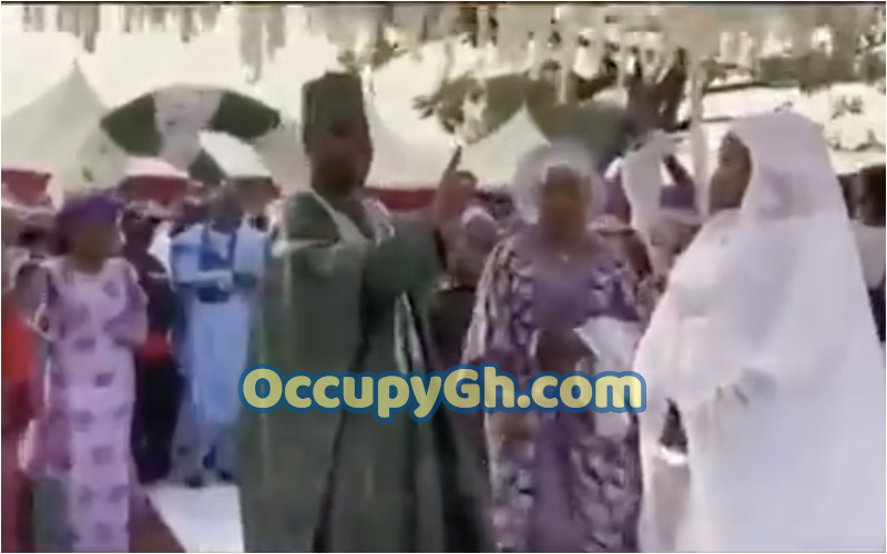 groom refuses dance with wife