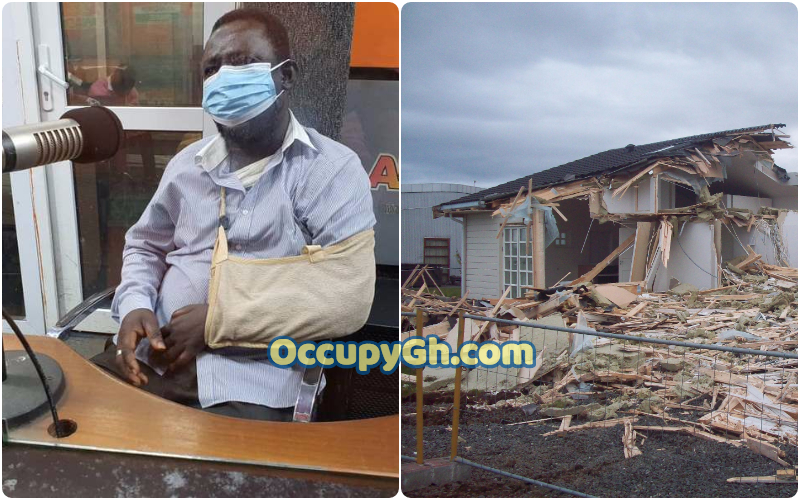 Church Demolishes Physically Challenged Man House