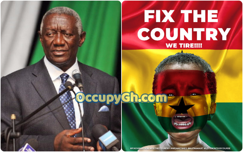 John Agyekum Kufuor #fixthecountry