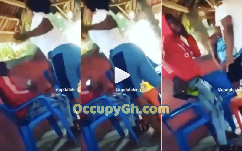 Lady Slaps Boyfriend Denying Her