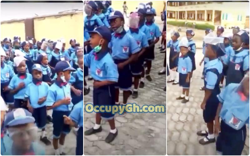 Primary School Children Reciting Anti-Sexual Assault Song