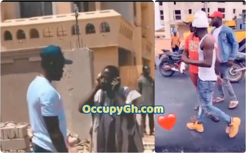 Shatta Wale Punishes Road Contractor