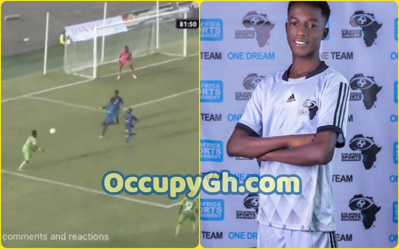 Mizak Ashante goal