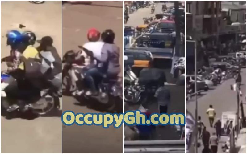 Man Shot Achimota Armed Robbers