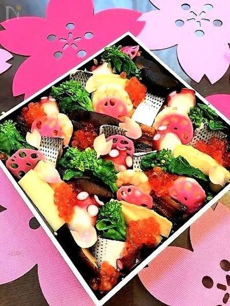 彩りと季節感を味わう我が家のちらし寿司
