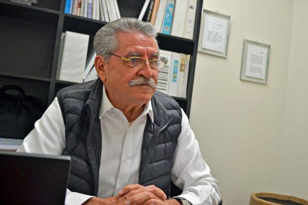 Juan Agustín Vargas Garza, subdelegado federal de la Secretaría de Economía en La Laguna de Coahuila.