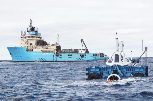 Oregon department of fish and wildlife, organizer of oregon's first statewide coastal cleanup in 1984. Ocean Cleanup S System To Return To Port After End Section Fracture Offshore Energy