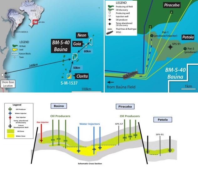 Location map and Patola schematic - Karoon